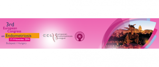 Oral presentation on 4DryField<sup>®</sup> at the European Congress on Endometriosis, November 17-19, 2016 in Budapest