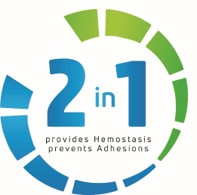 #2: 4DryField is a 2in1 product: effective adhesion prevention and hemostasis